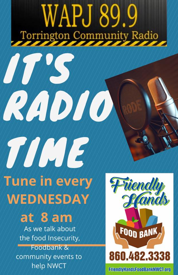 Friendly Hands Food Bank on the Radio