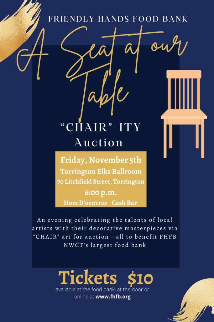 CHAIRITY Auction Flyer
